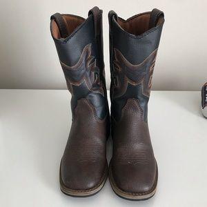 Boys Austin Boots Size 11- worn twice!